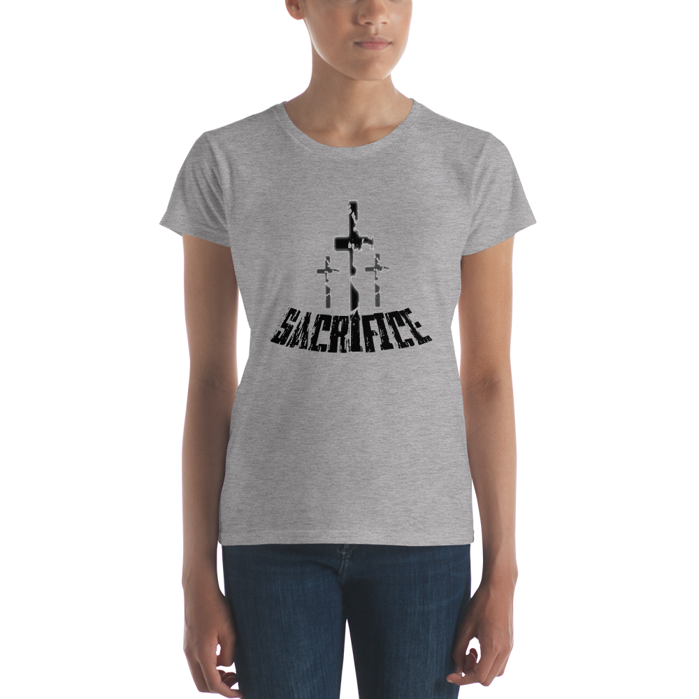 Sacrifice Ladies' Tees - Be Ye AWARE Clothing