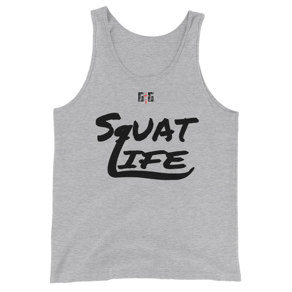 Squat Life Men's/Unisex Tanks - Be Ye AWARE Clothing