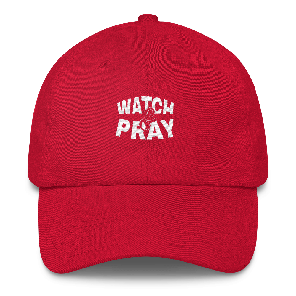 Watch & Pray Dad Caps - Be Ye AWARE Clothing