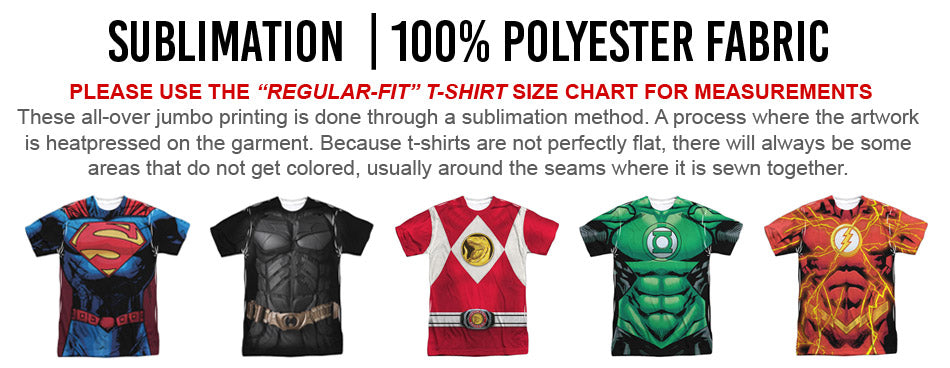all over printing polyester sublimation t-shirt