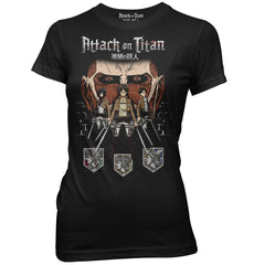Attack on Titan - In The Shadows Womens T-Shirt