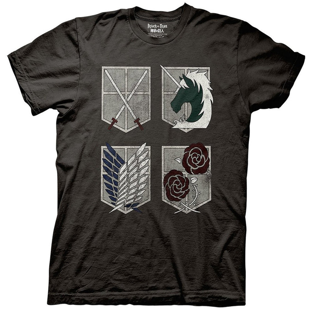 Attack on Titan - 4 Shields T-Shirt