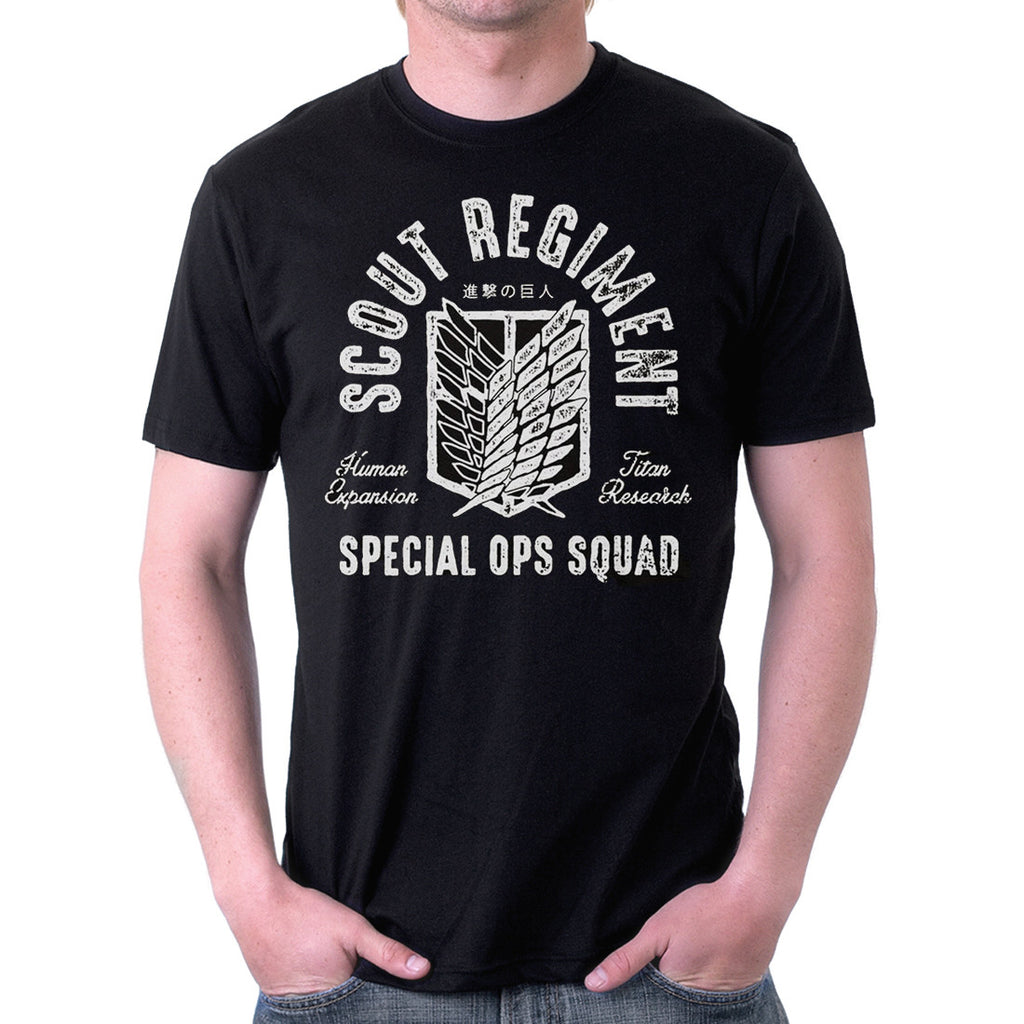 Attack on Titan - Scout Regiment Special OPS T-Shirt