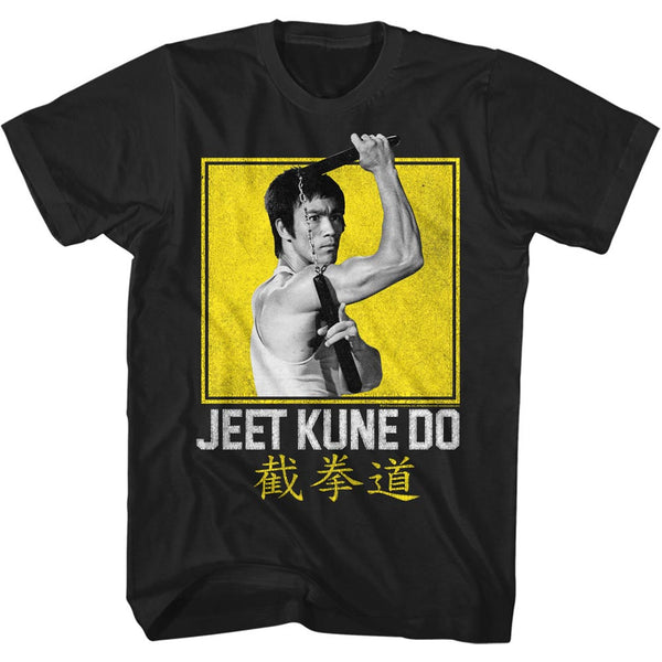 Bruce Lee - Jeet Kune Do Yellow Box T-Shirt
