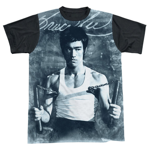 Bruce Lee - Nunchucks Sublimation t-shirt