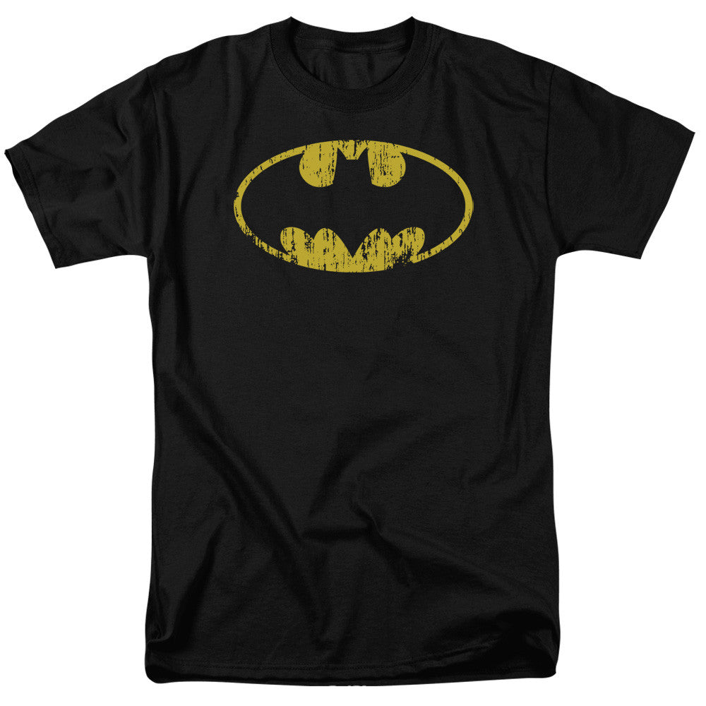 Batman - Classic Chest Logo Distressed t-shirt