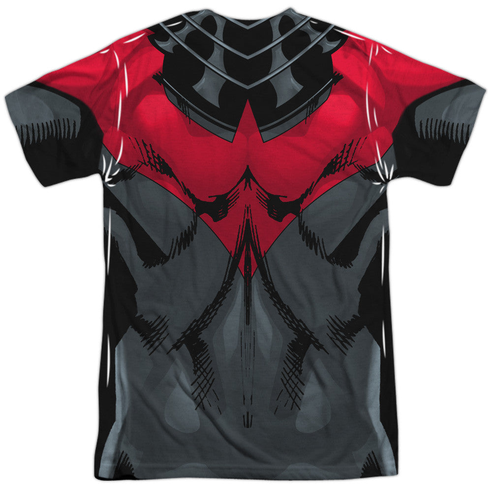 Nightwing RED New 52 Costume Uniform Sublimation t-shirt