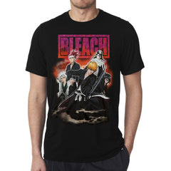 Bleach Main Characters Crew T-Shirt
