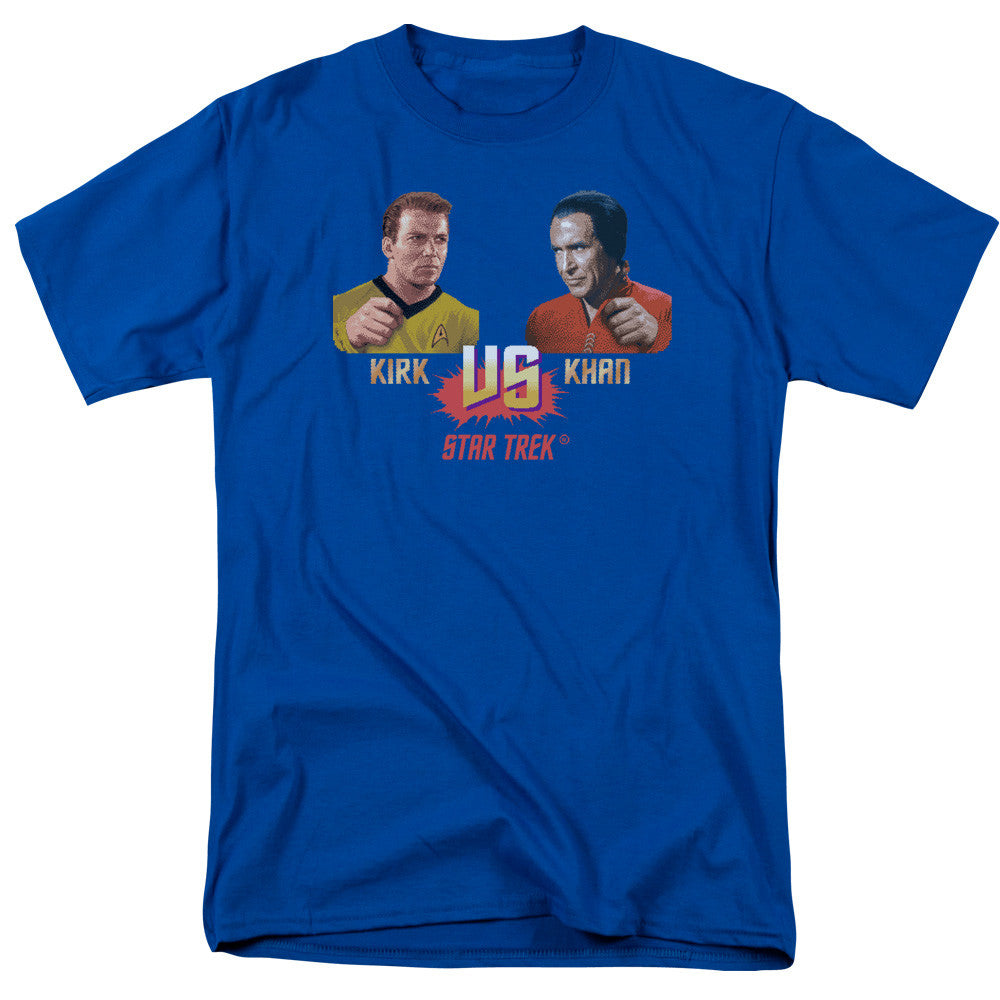 Star Trek Kirk VS Khan t-shirt