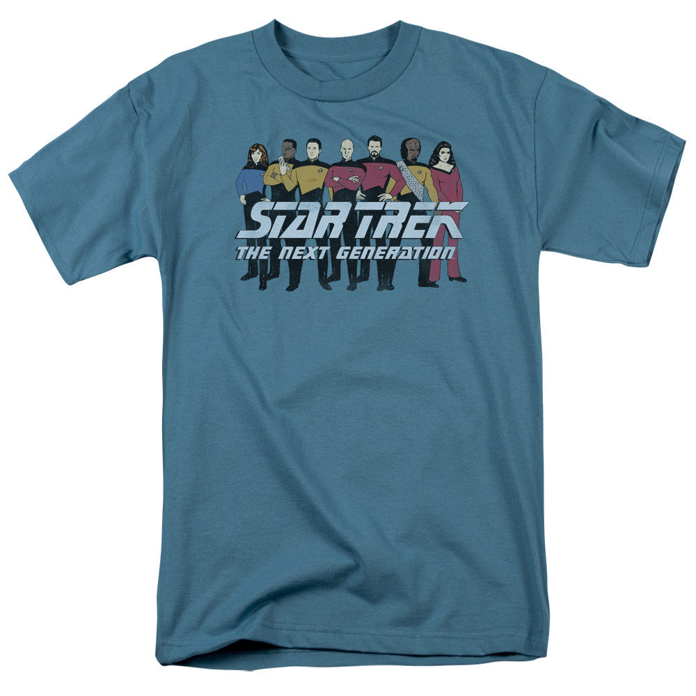 Star Trek Next Generation Characters t-shirt