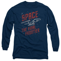 Star Trek Space The Final Frontier t-shirt