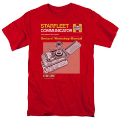 Star Trek Starfleet Communicator Owner's Workshop Manual t-shirt