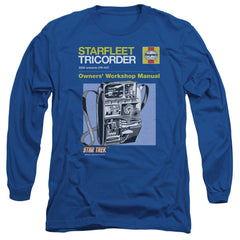 Star Trek Starfleet Tricorder Owner's Workshop Manual t-shirt