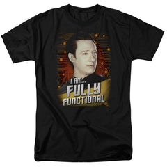 Star Trek Data I Am Fully Functional t-shirt