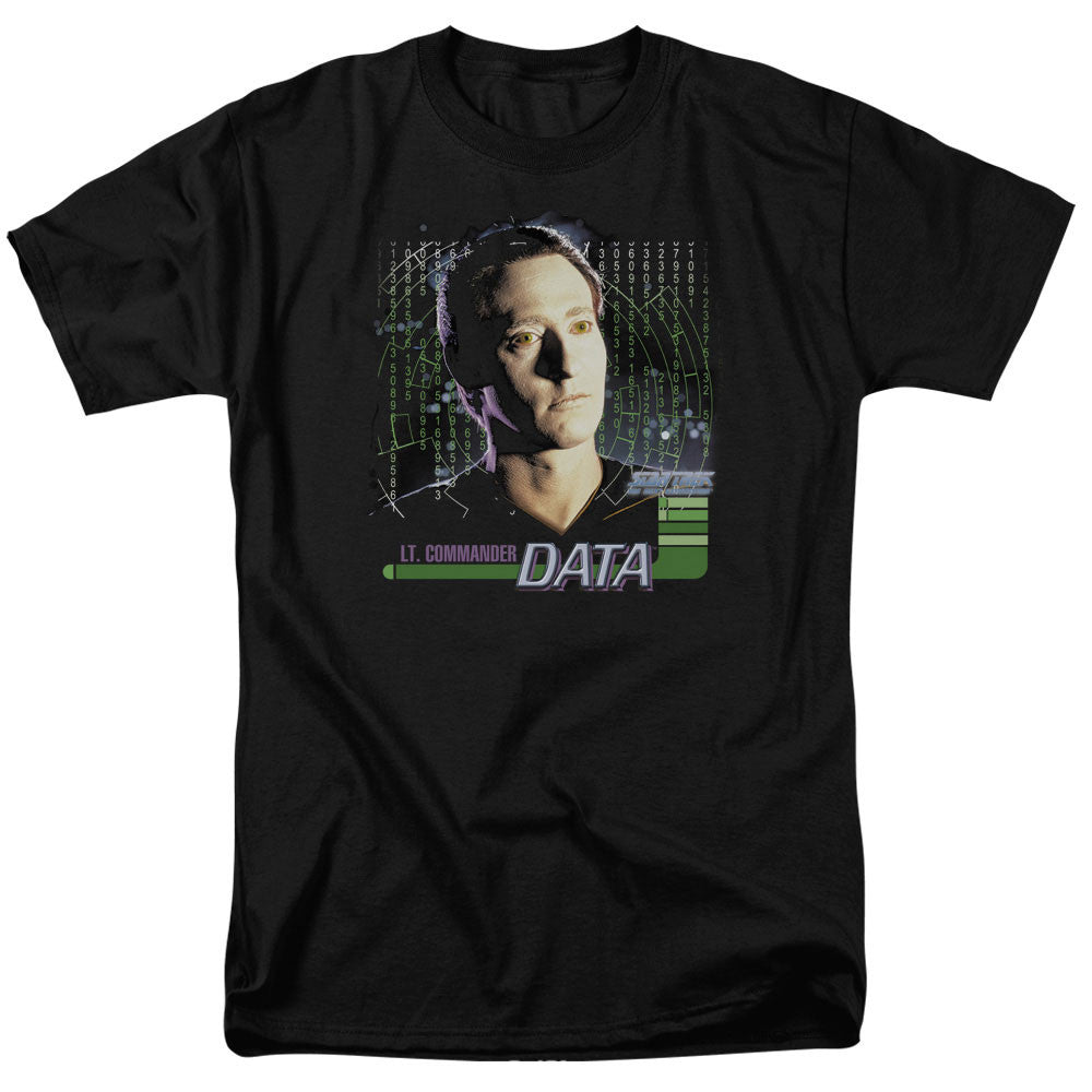 Star Trek Lt. Commander Data t-shirt