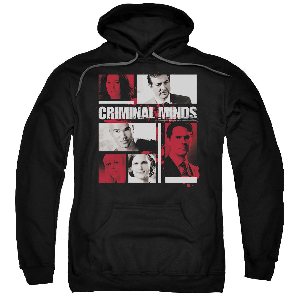 Criminal Minds - Character Boxes t-shirt