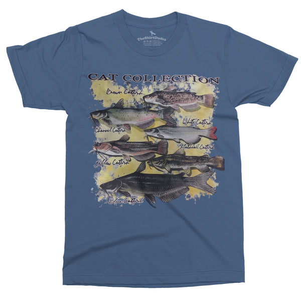 Cat Collection (fishing) T-Shirt