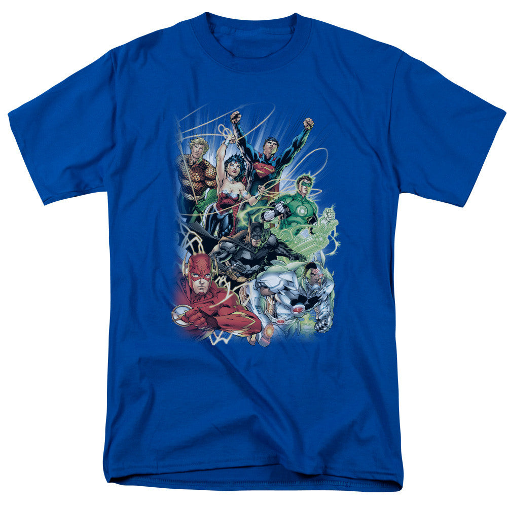 Justice League New 52 - Comic Cover #1 t-shirt