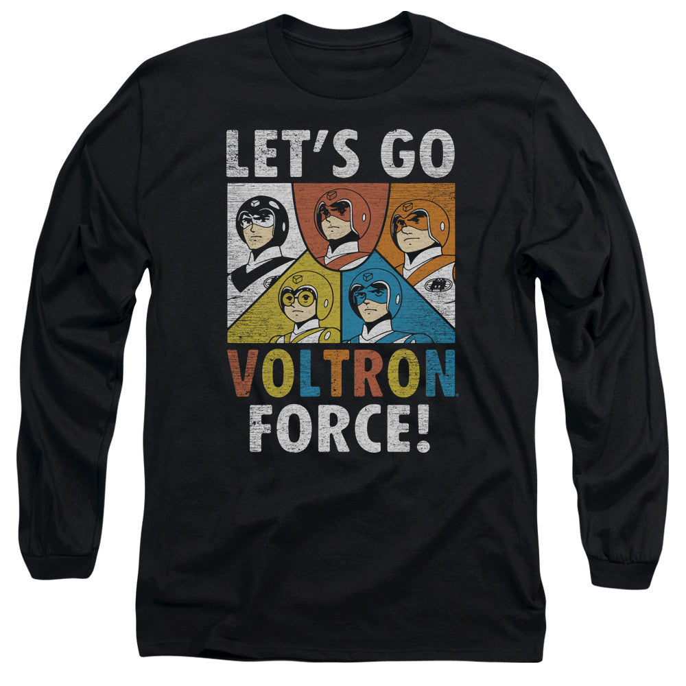 Let's Go Voltron Force t-shirt