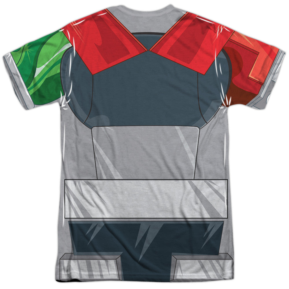Voltron - Robot Costume Uniform Sublimation t-shirt