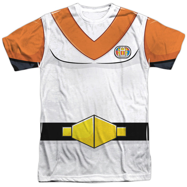 Voltron - Hunk Yellow / Orange Uniform Costume t-shirt