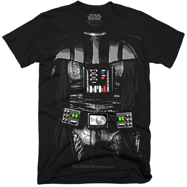 Darth Vader Costume Outfit T-Shirt