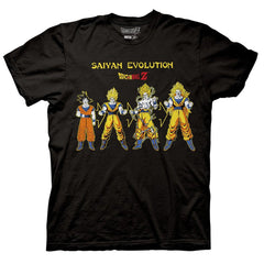 Dragon Ball Z - Goku Saiyan Evolution T-Shirt