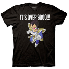 Dragon Ball Z - Vegeta It's Over 9000 T-Shirt