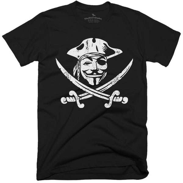 Guy Fawkes Pirate T-shirt