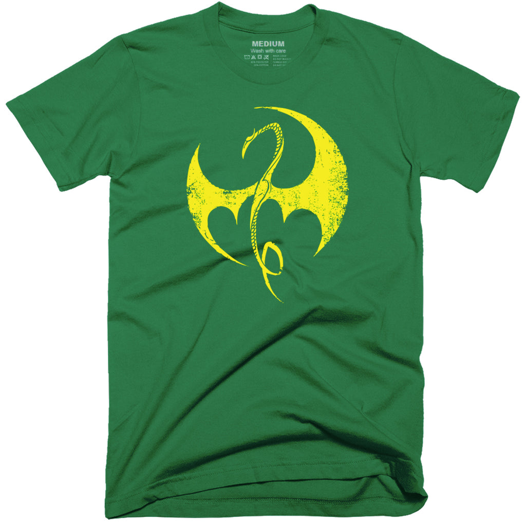 Iron Fist Dragon Logo T-Shirt