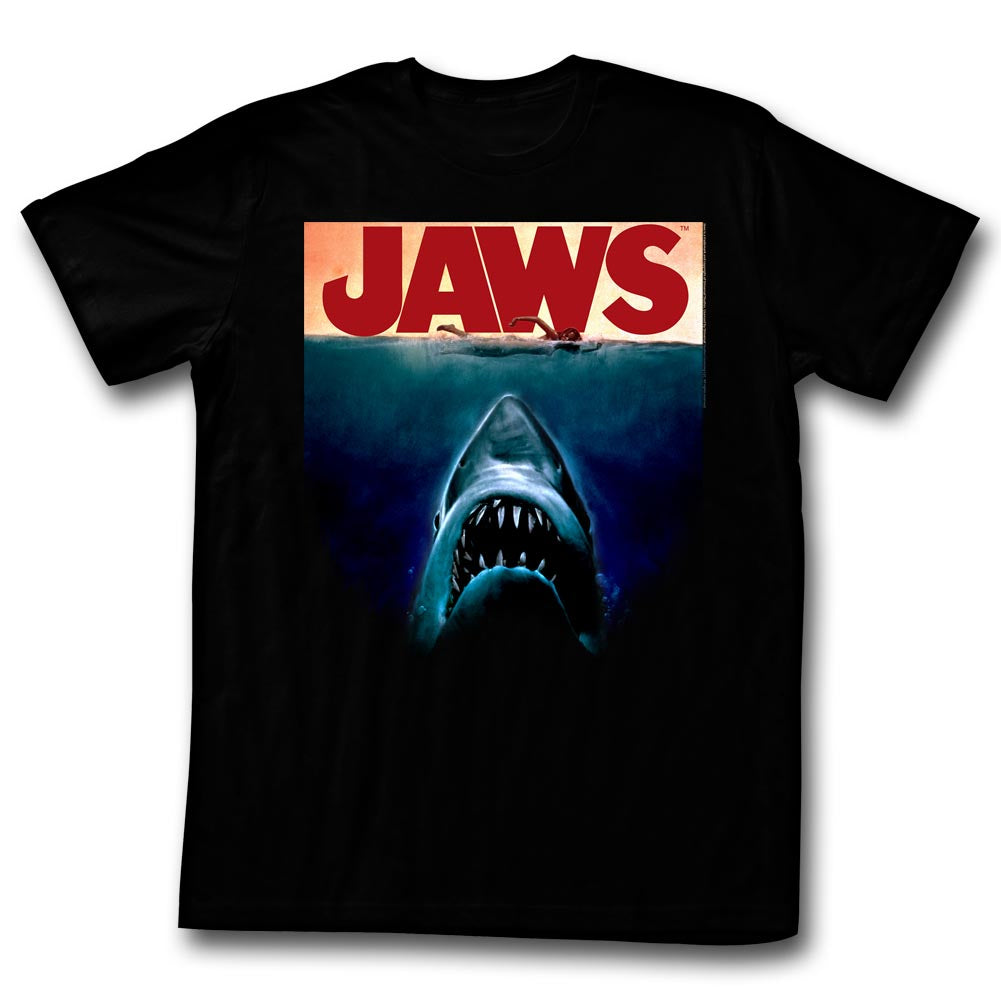Jaws - Deep Movie Poster T-Shirt
