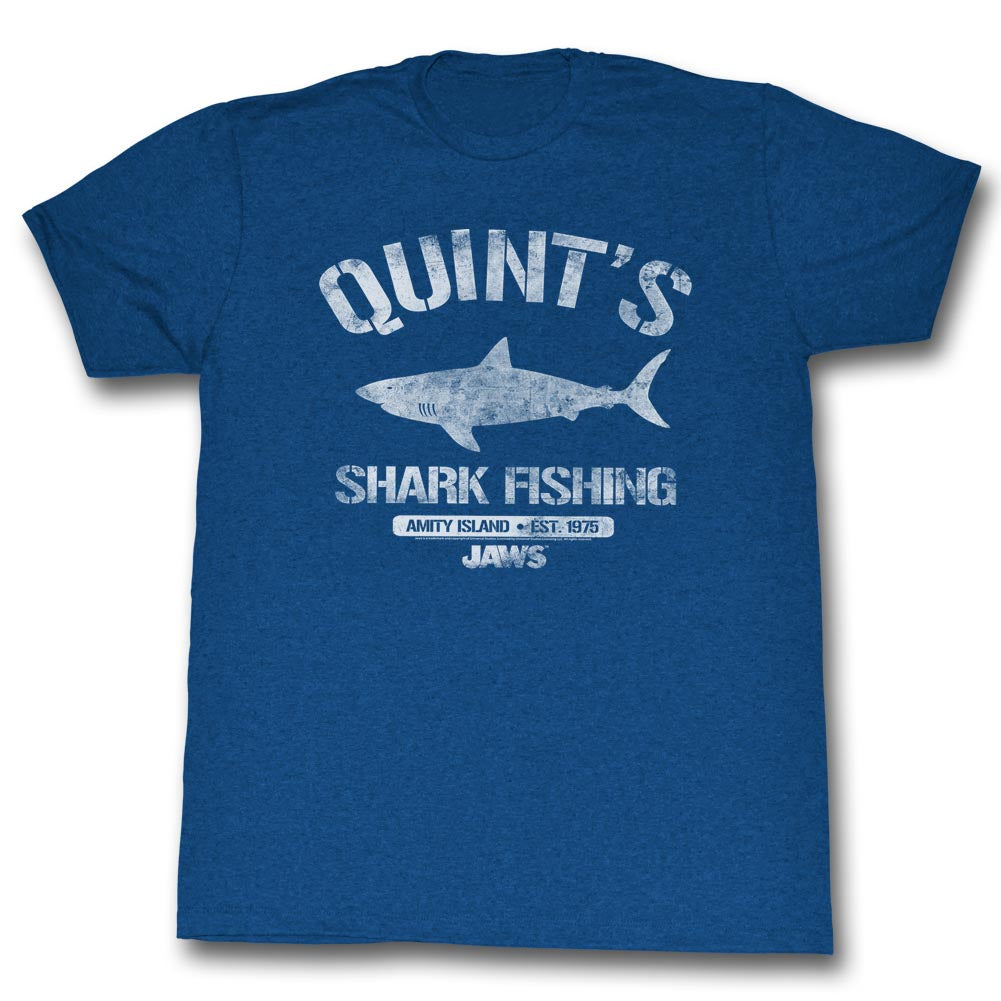Jaws - Quint's Shark Fishing T-Shirt