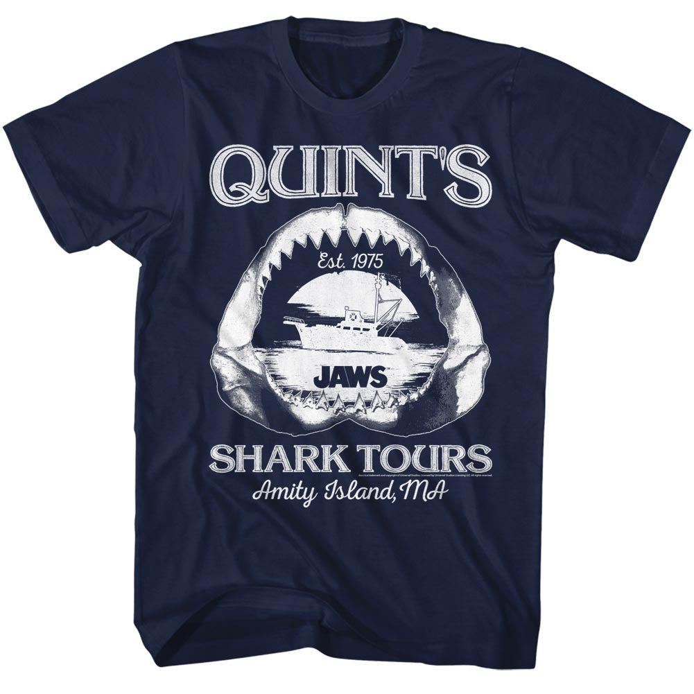 Jaws - Quint's Shark Tours Est. 1975 T-Shirt