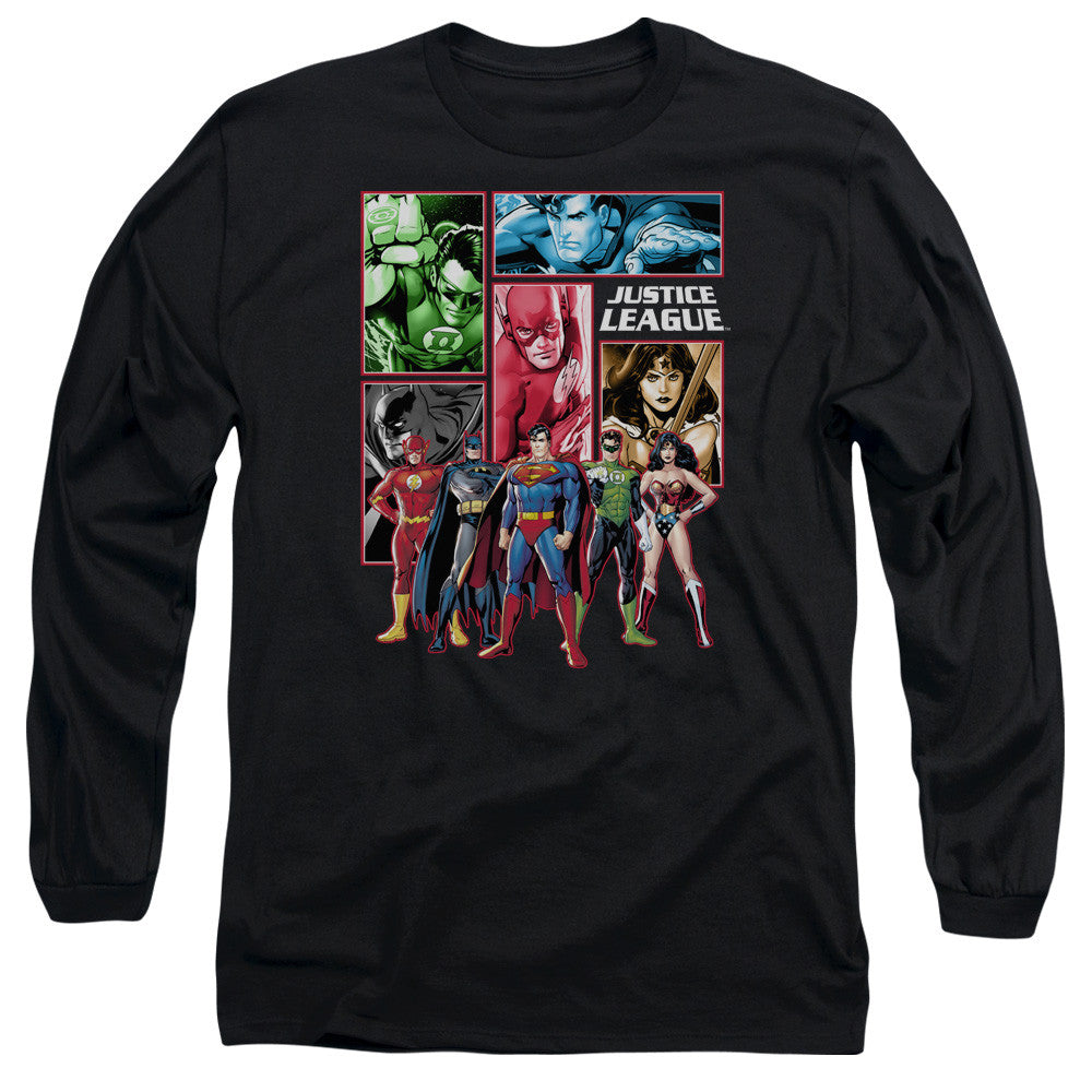 Justice League - Comic Panels t-shirt