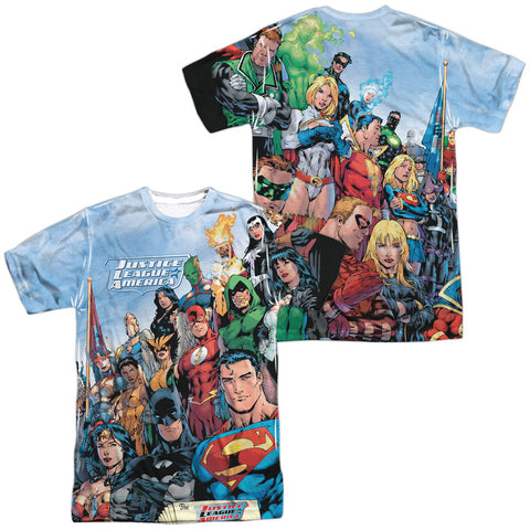 DC Comics - Justice League of America Sublimation t-shirt