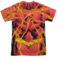 The Flash New 52 BOLT Costume Uniform Sublimation t-shirt