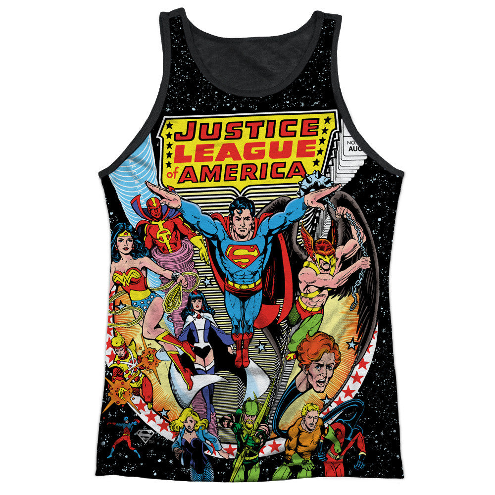 DC Comics - Justice League of America Team Sublimation t-shirt