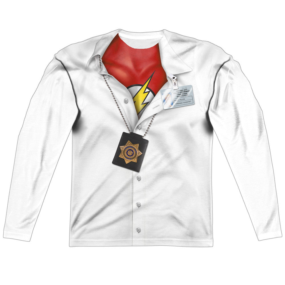 Barry Allen - The Flash Undercover Costume Uniform Sublimation t-shirt