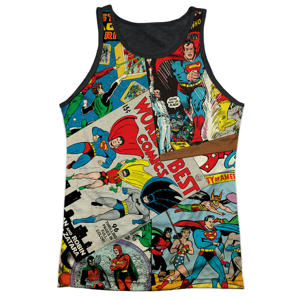 DC Comics - Justice League Classic Collage Sublimation T-Shirt ...