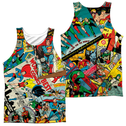 DC Comics - Justice League Classic Collage Sublimation t-shirt
