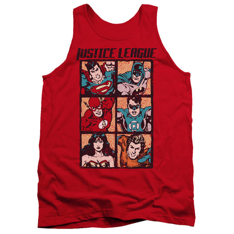 Justice League - Square Comic Panels t-shirt
