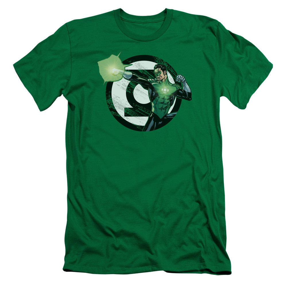 Green Lantern - Blasting Chest Logo t-shirt