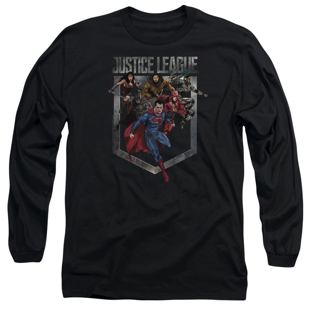 The Justice League Movie - Group Charge T-Shirt
