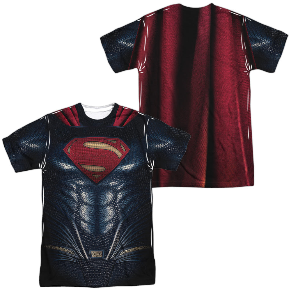 Superman JL Movie Costume Uniform Sublimation t-shirt