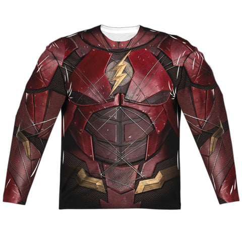 The Flash JL Movie Costume Uniform Sublimation t-shirt