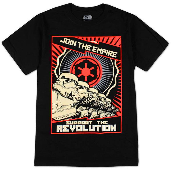 Star Wars - Support the Empire, Join The Revolution T-Shirt