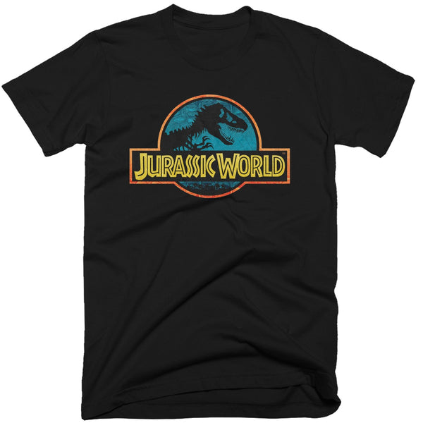 Jurassic World Official Logo T-Shirt
