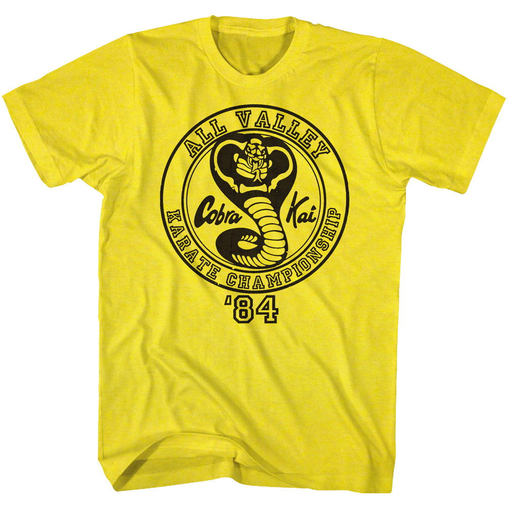 Karate Kid - All Valley Karate Championship Official T-Shirt