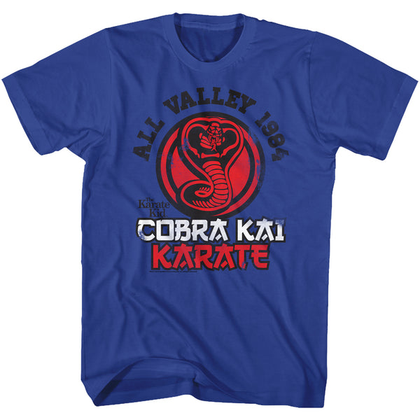 Karate Kid - Cobra Kai Karate (Royal) T-Shirt