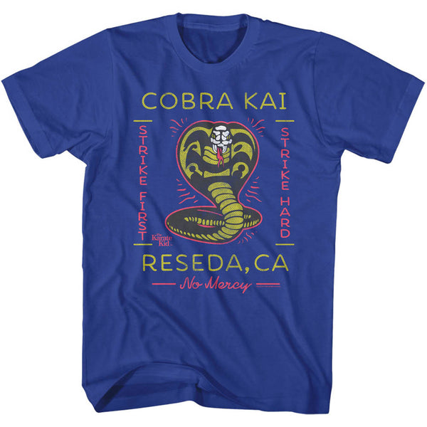 Karate Kid - Neon Cobra Kai T-Shirt